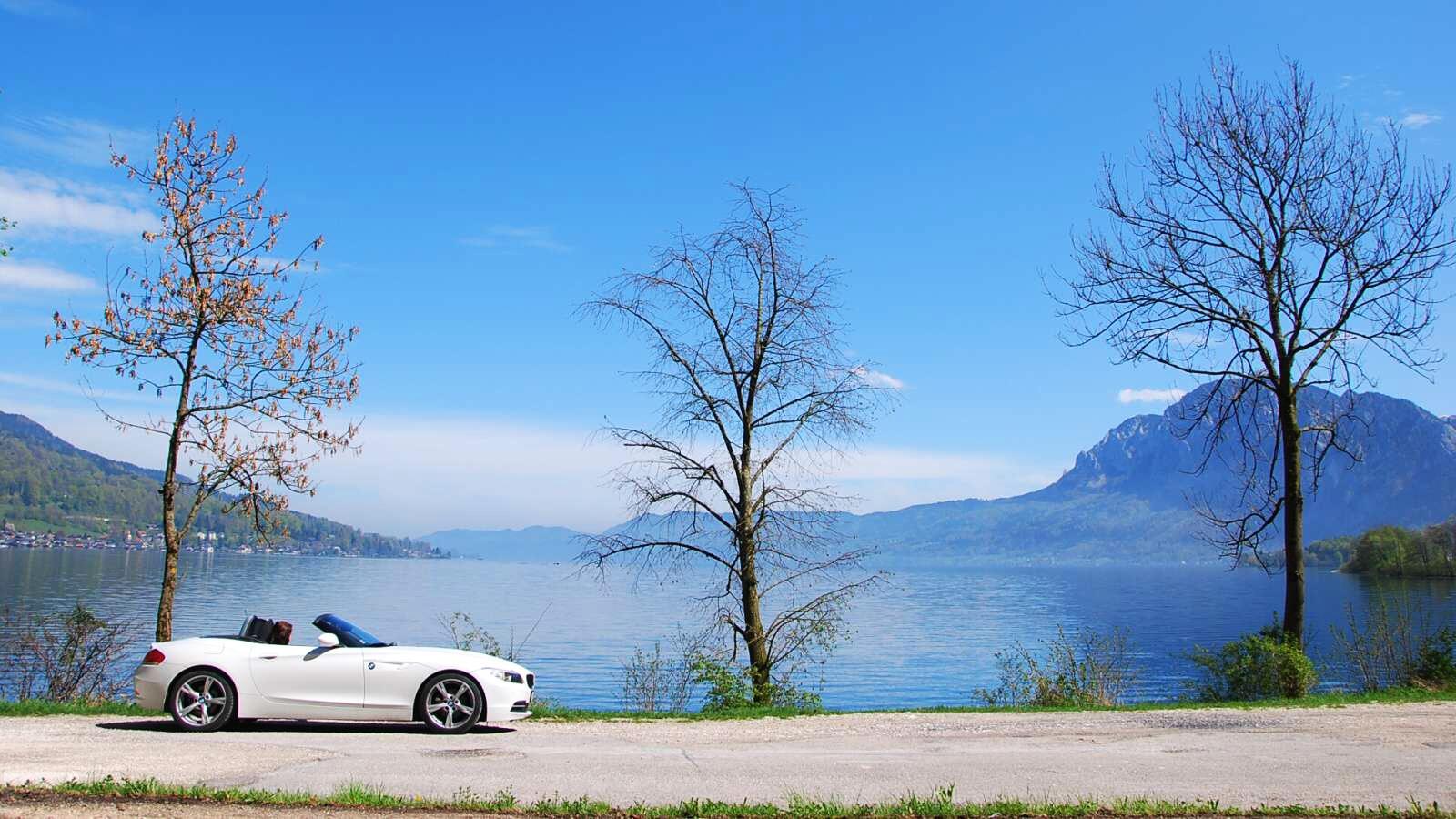 BMW Z4 u jezera