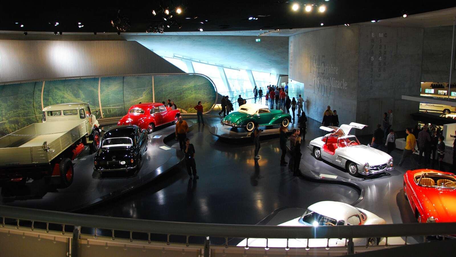 Pohled na jedno z pater muzea