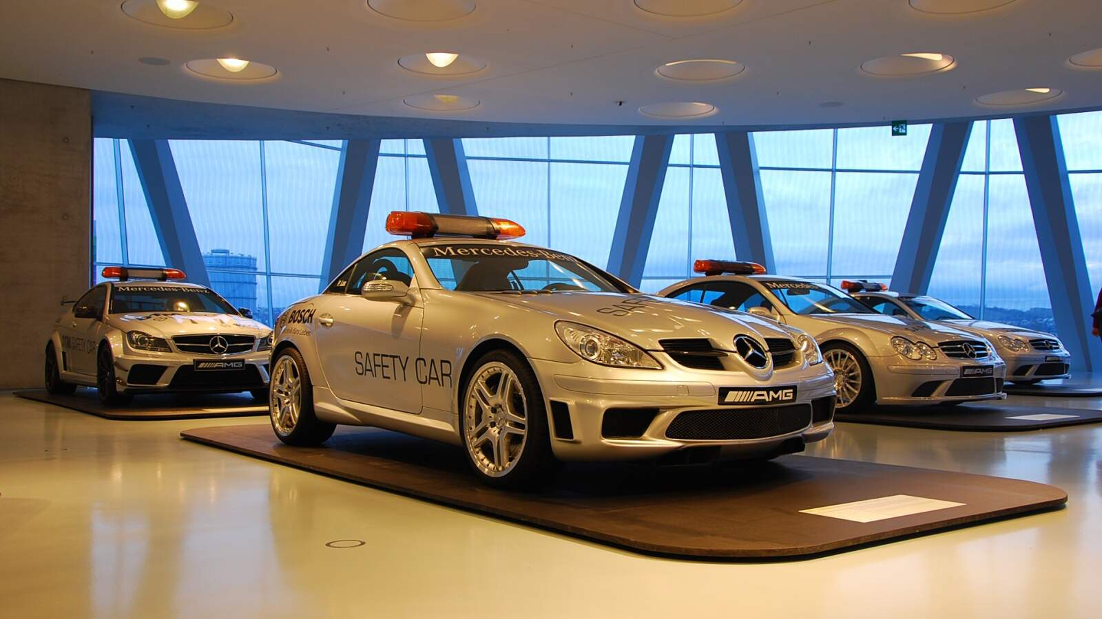 Safety car Mercedes-Benz SLK