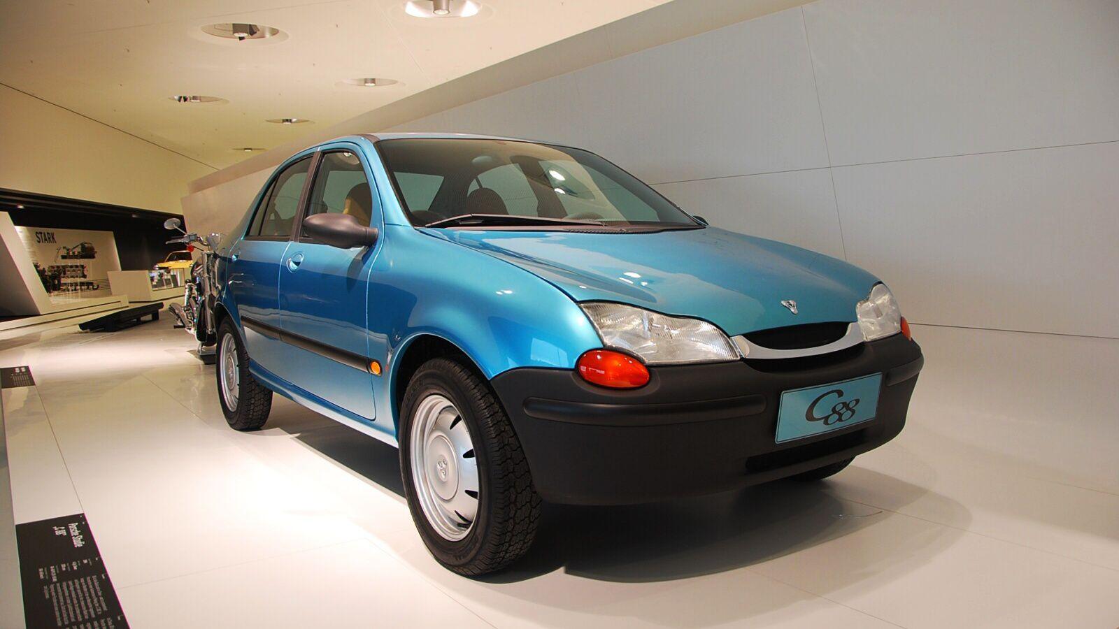 Model C88 pro čínský trh, naštěstí nikdy nevznikl v seriove podobě