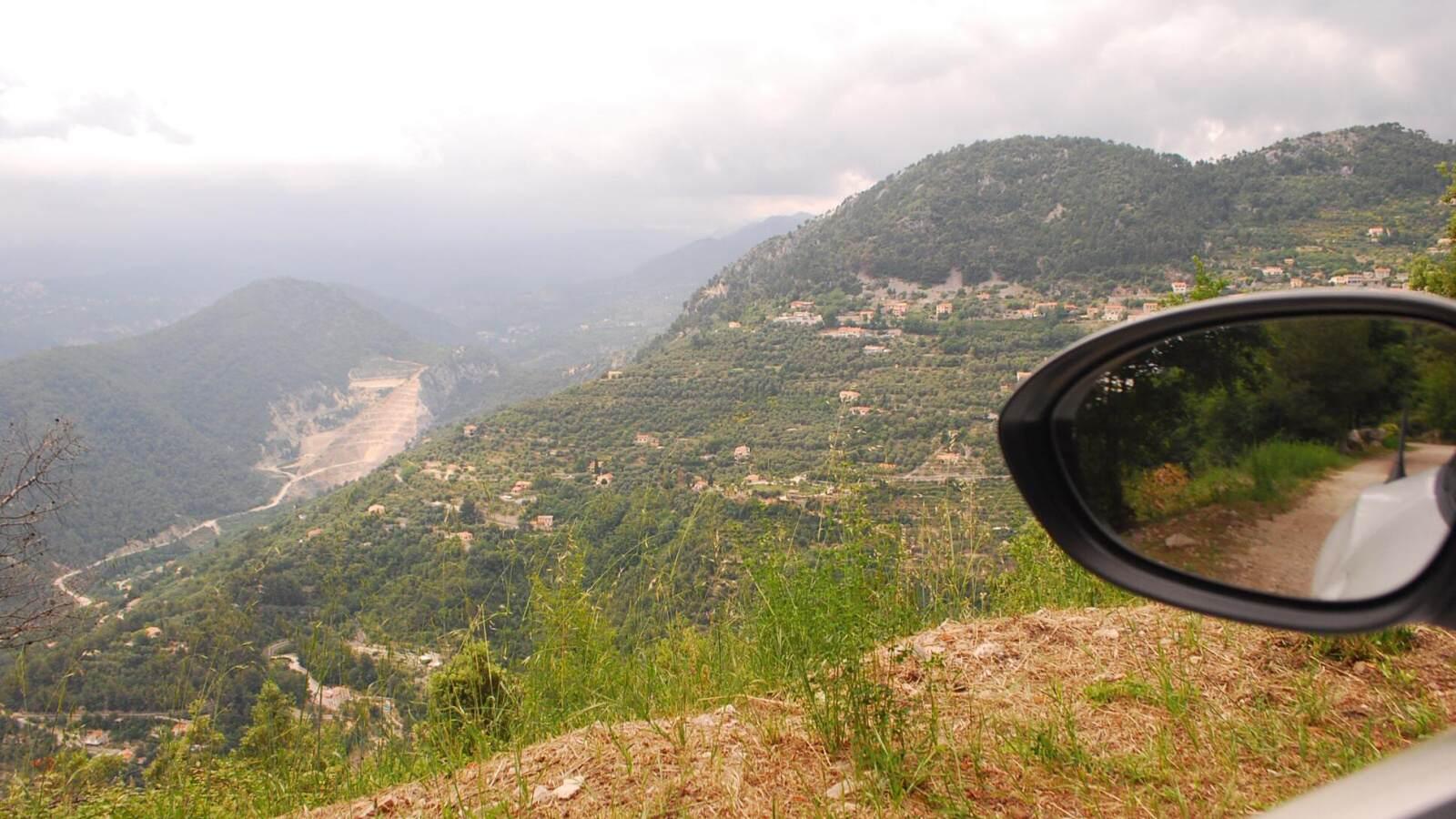 vyhled z kopce
