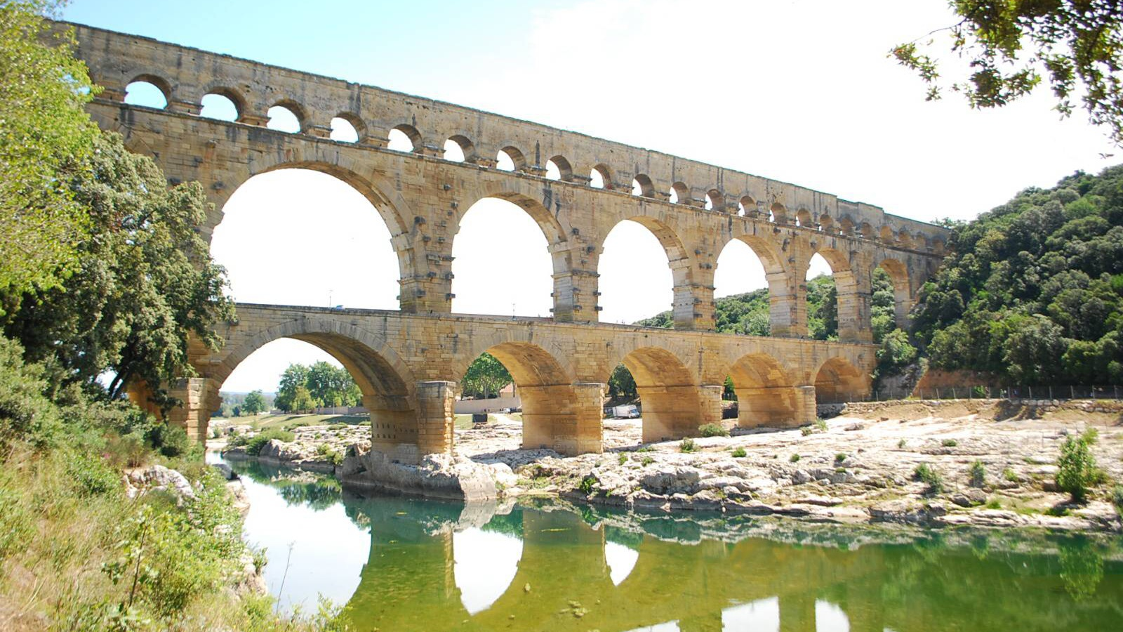 Most Pont du Gard