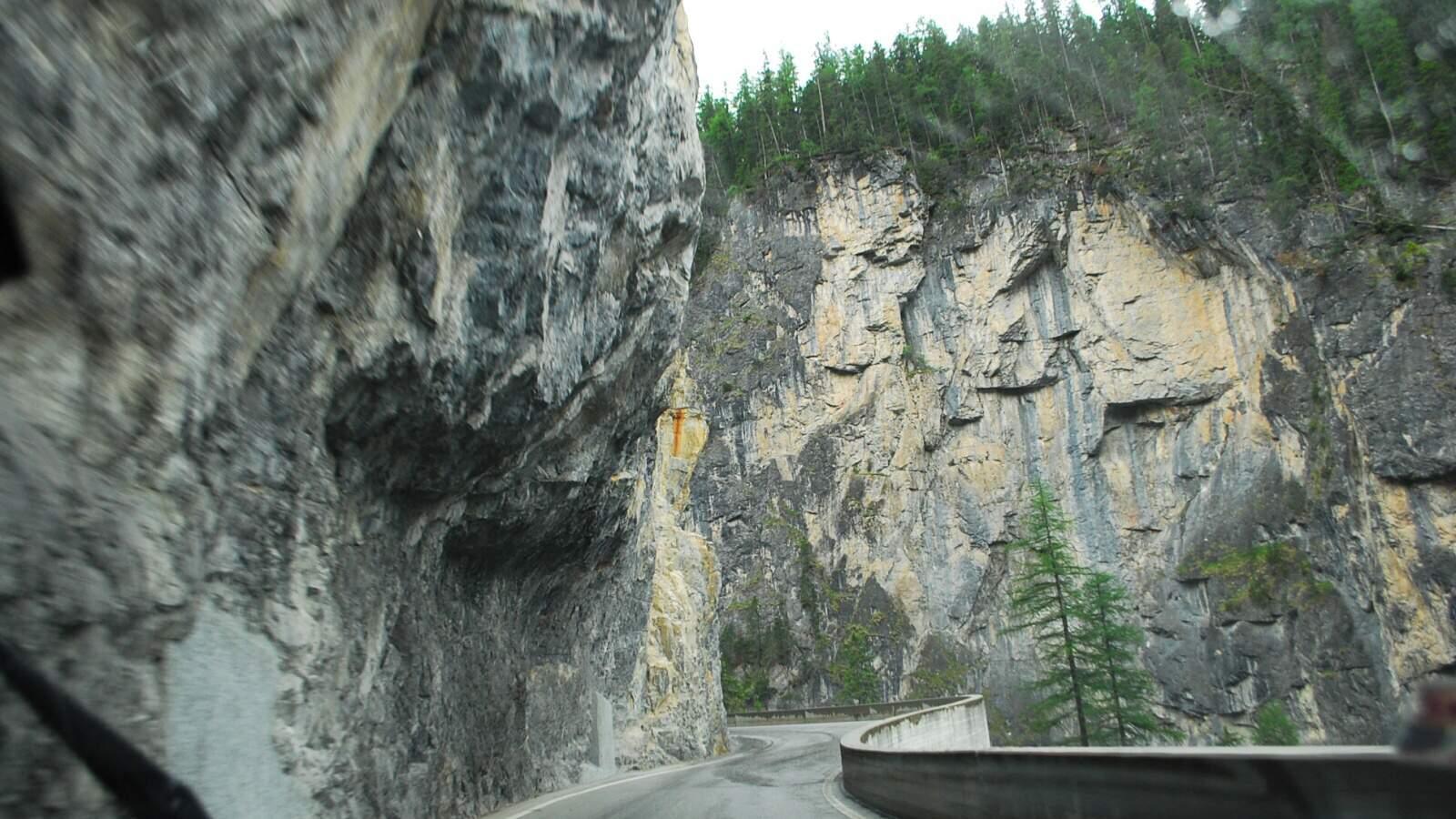 Stoupání k Albula Pass