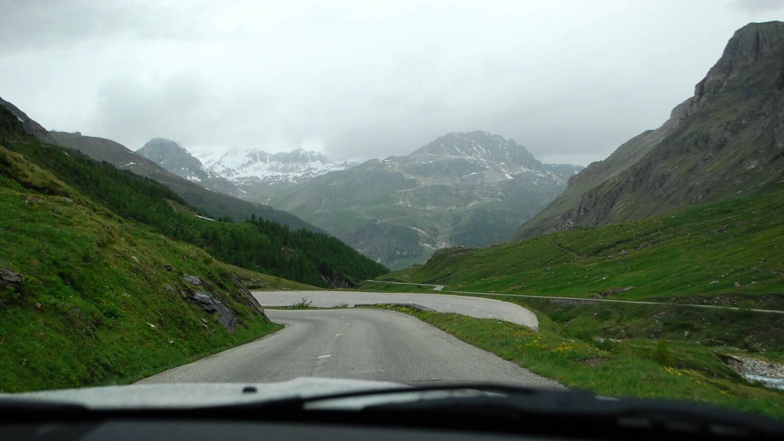 Klesání k Val d'Isère