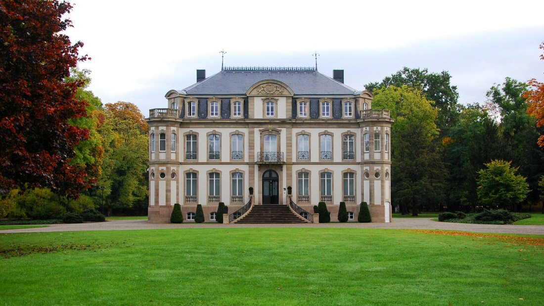 Zámek Chateau St. Jean v Molsheimu