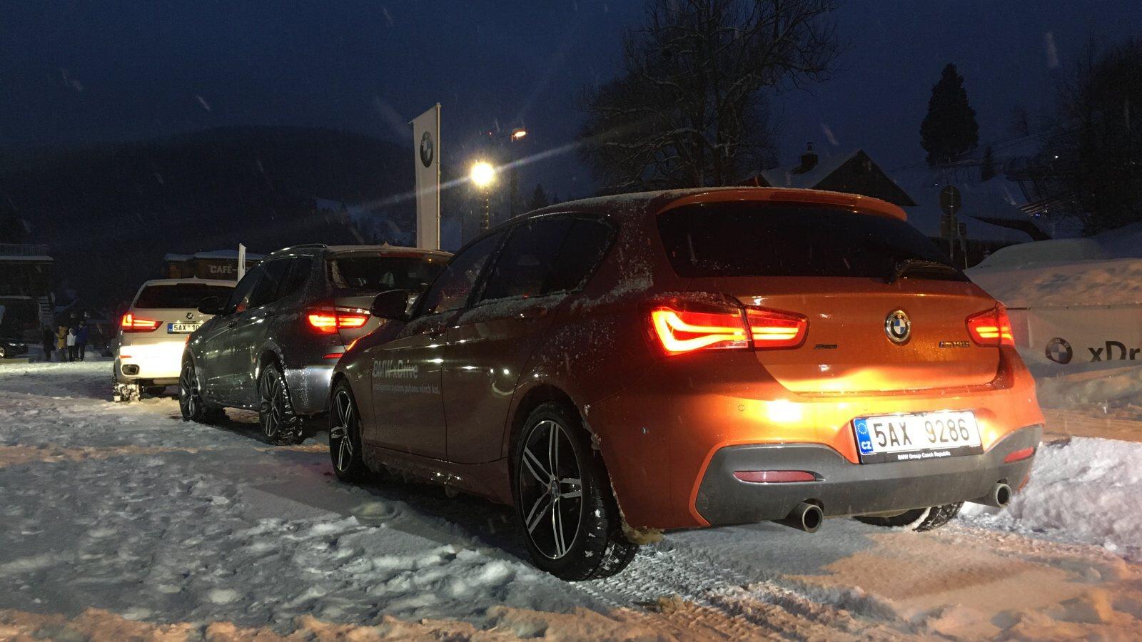 S BMW xDrive v horách