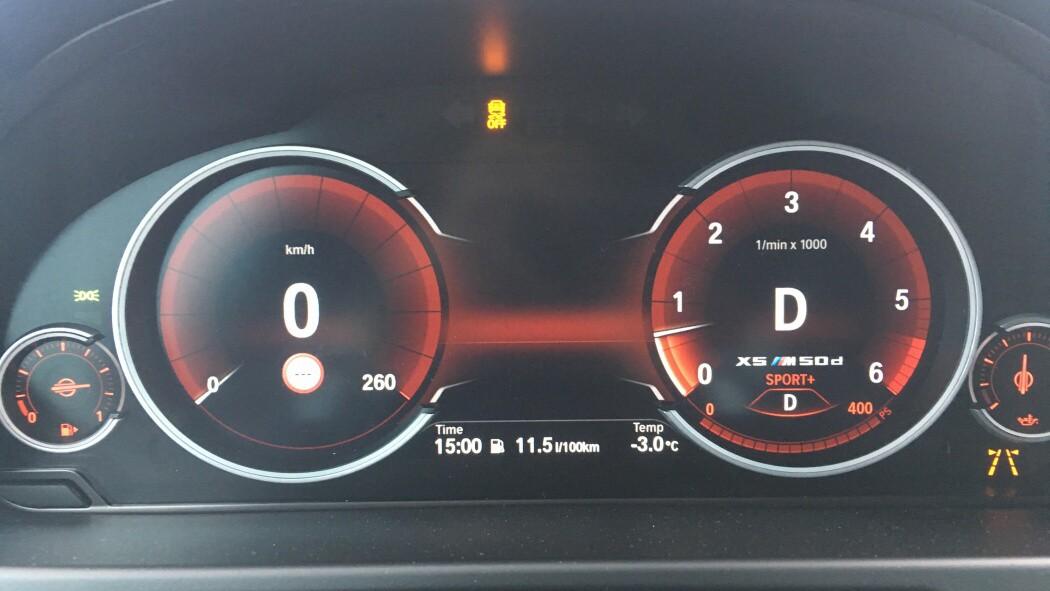 Interiér vozu BMW X5 M50d