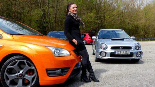 Impreza WRX a Ford Focus ST a holka