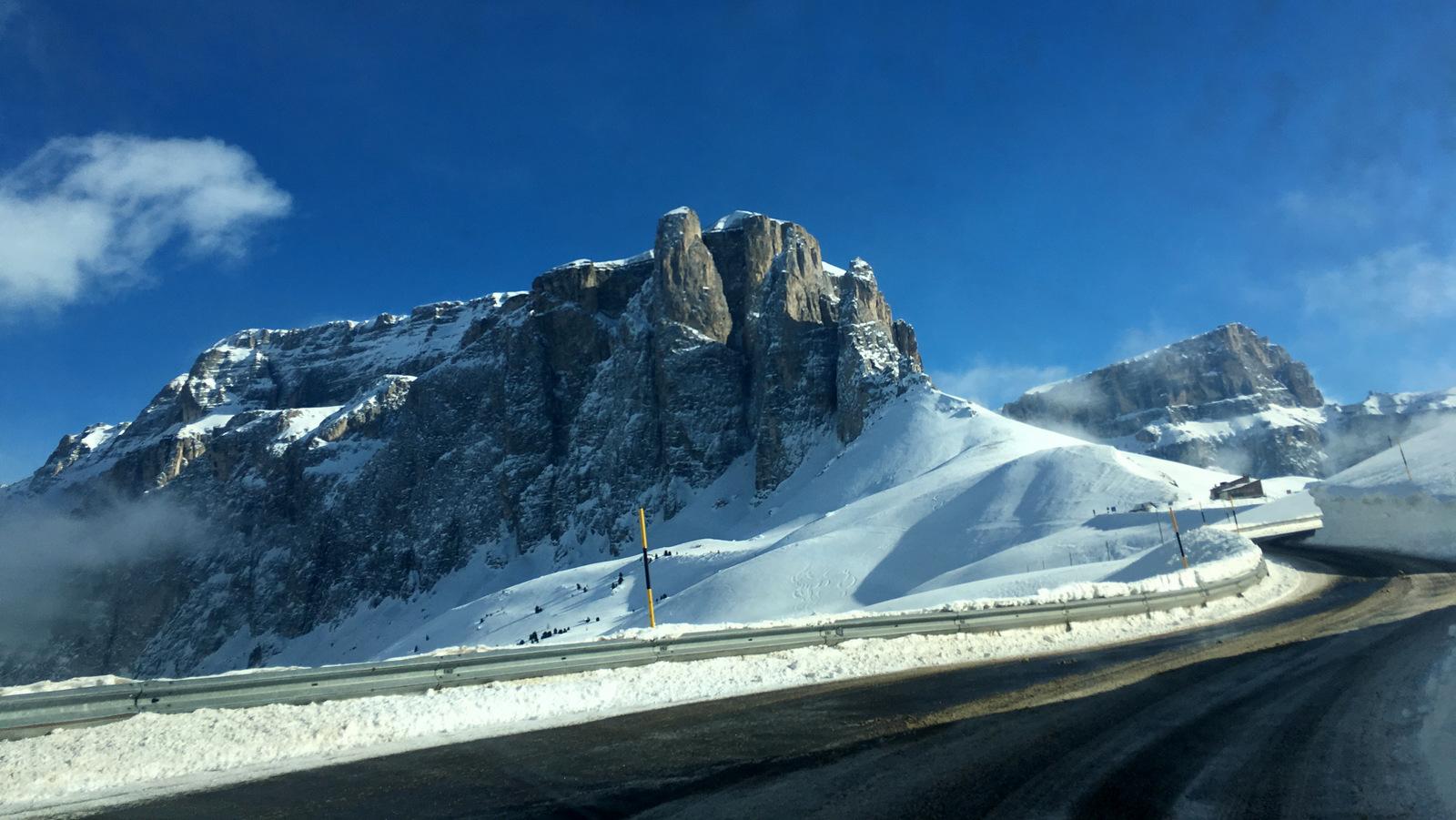 Zimní Dolomity – aneb Sella Ronda trochu jinak