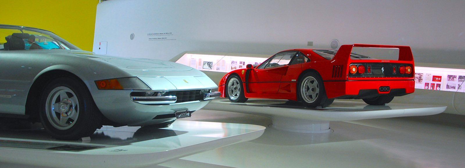 Ferrari Enzo Museum Modena Banner