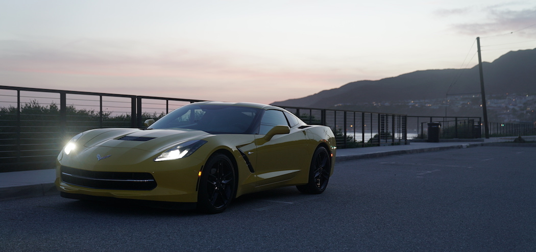 Chevrolet Corvette Stingray C7 Malibu