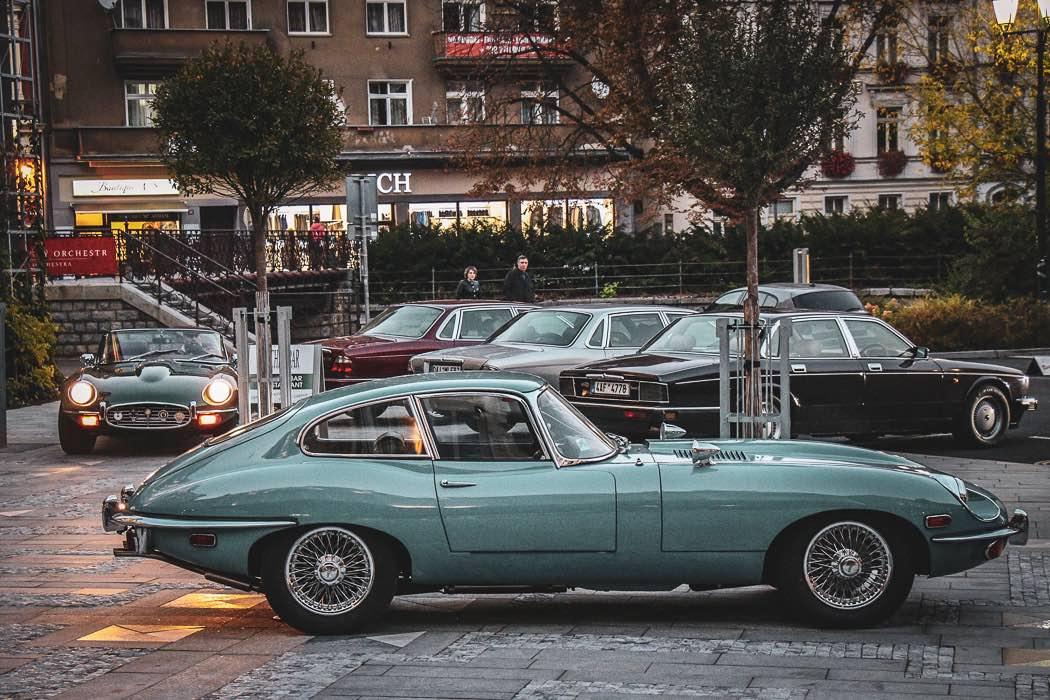 Jaguar Club Czech - Karlovy Vary 2018 1