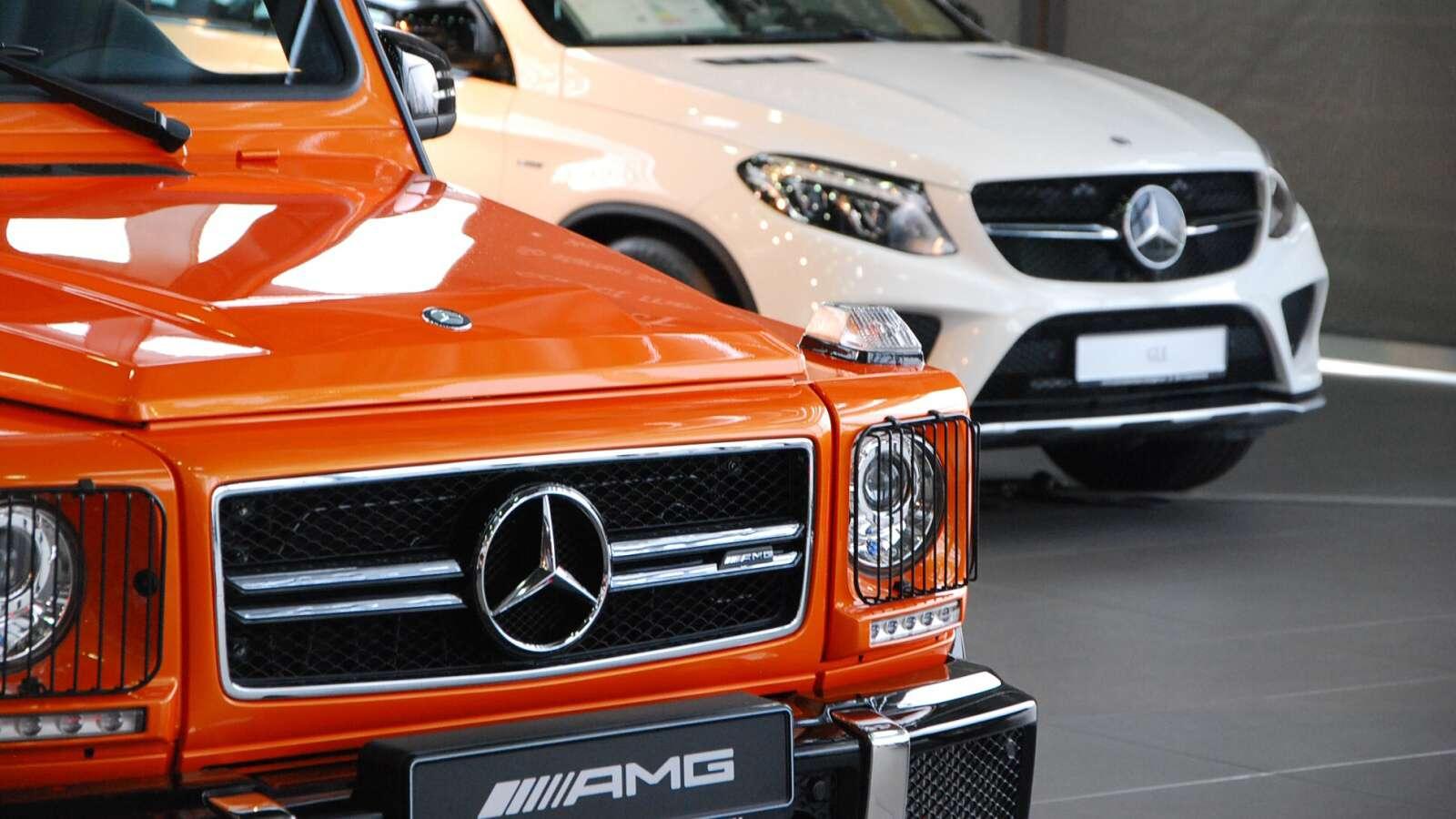 Mercedes třídy G a GLE