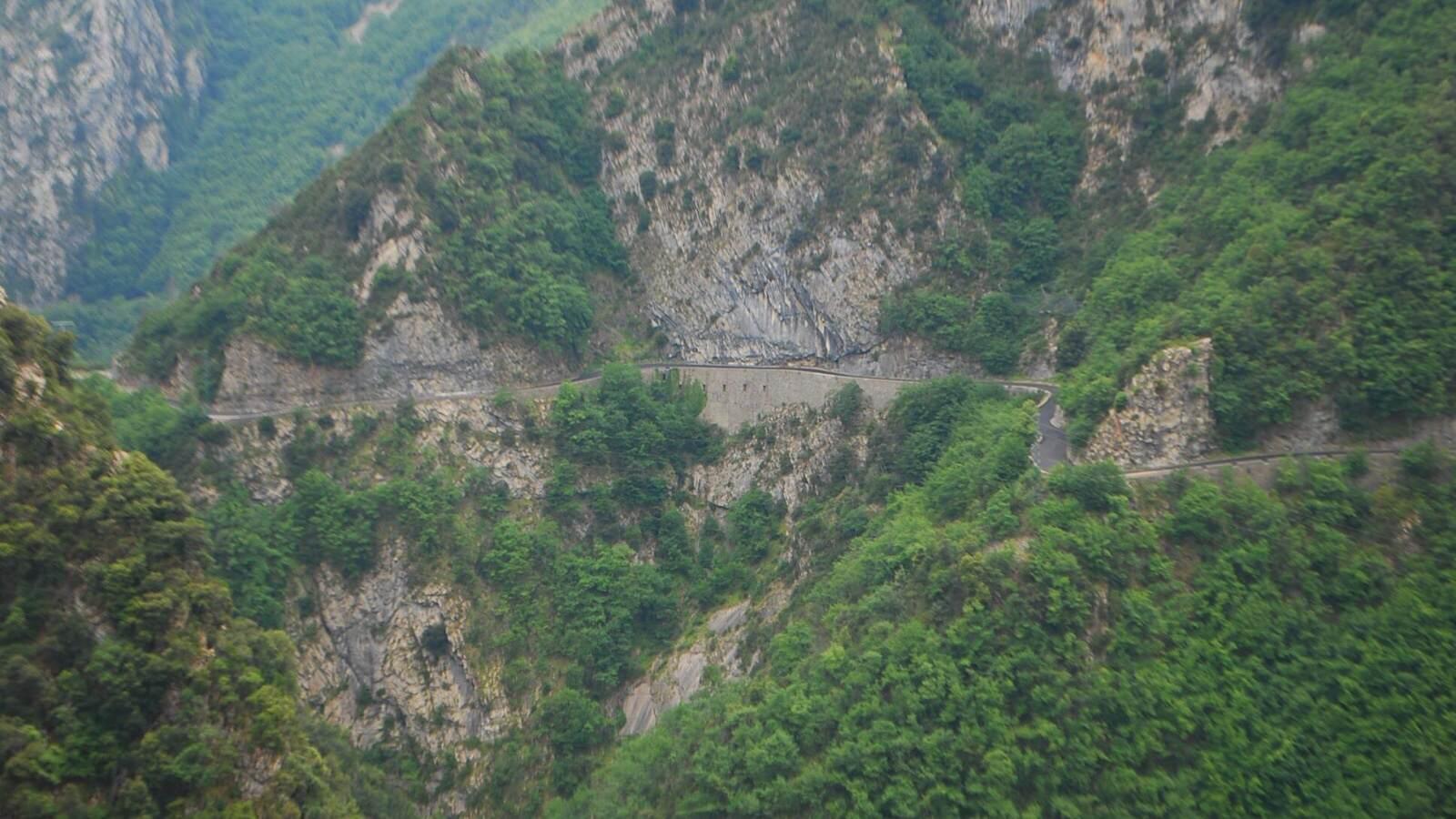 Silnice Route de Sospel