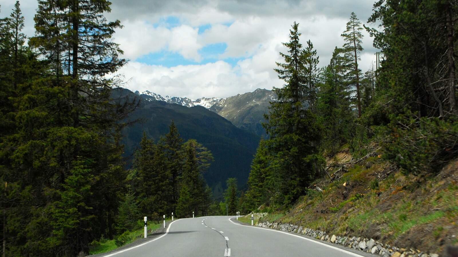 Silnice do Davosu