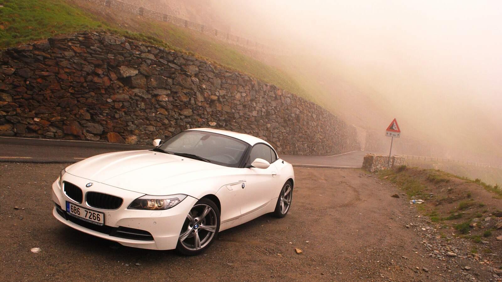 BMW Z4 na Stelvio Pass