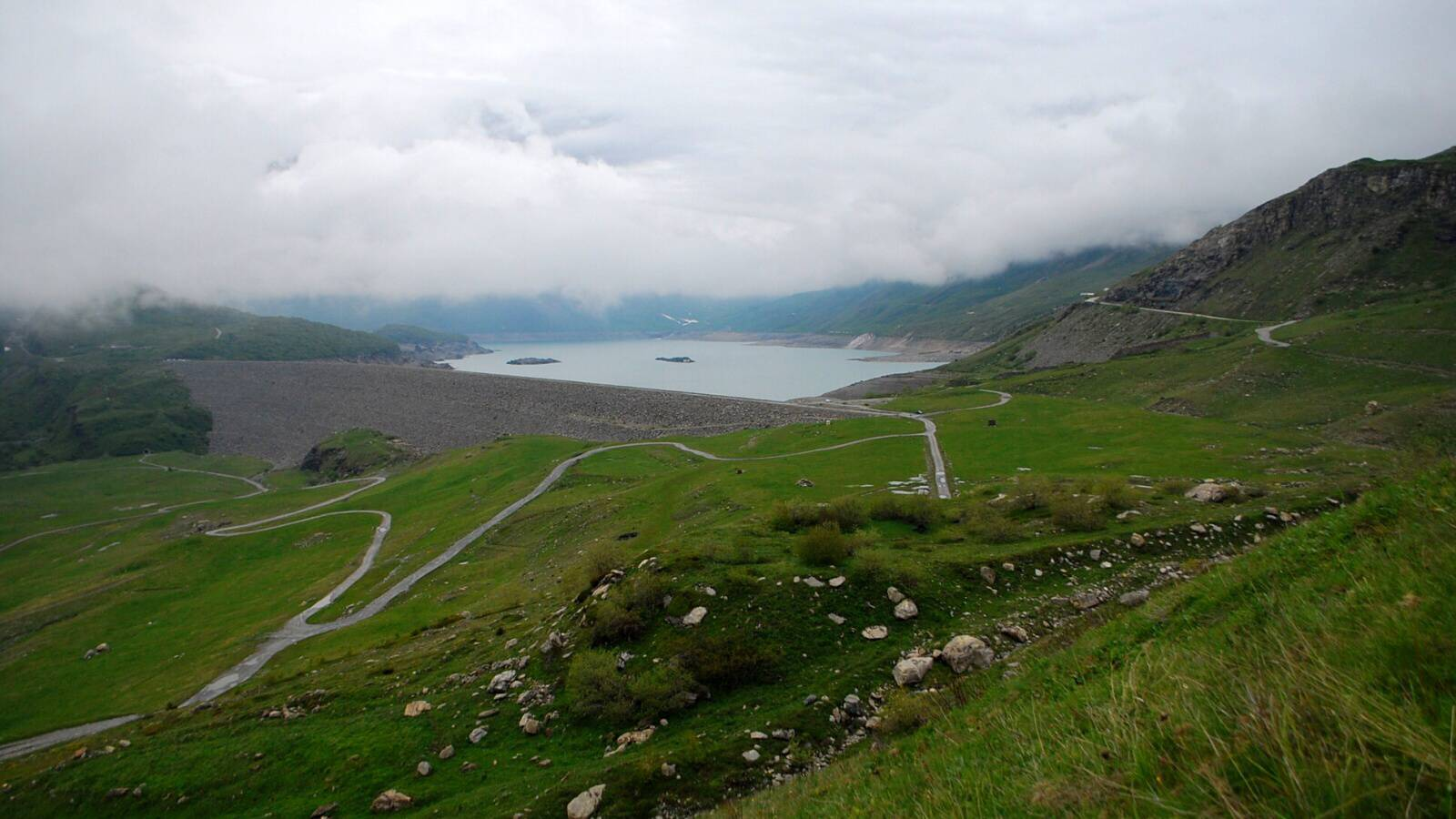 Jezero du Mont-Cenis