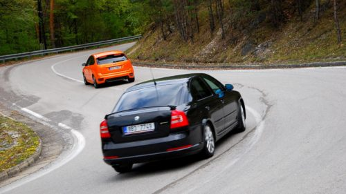 Ford Focus ST a Skoda Ocatvia RS