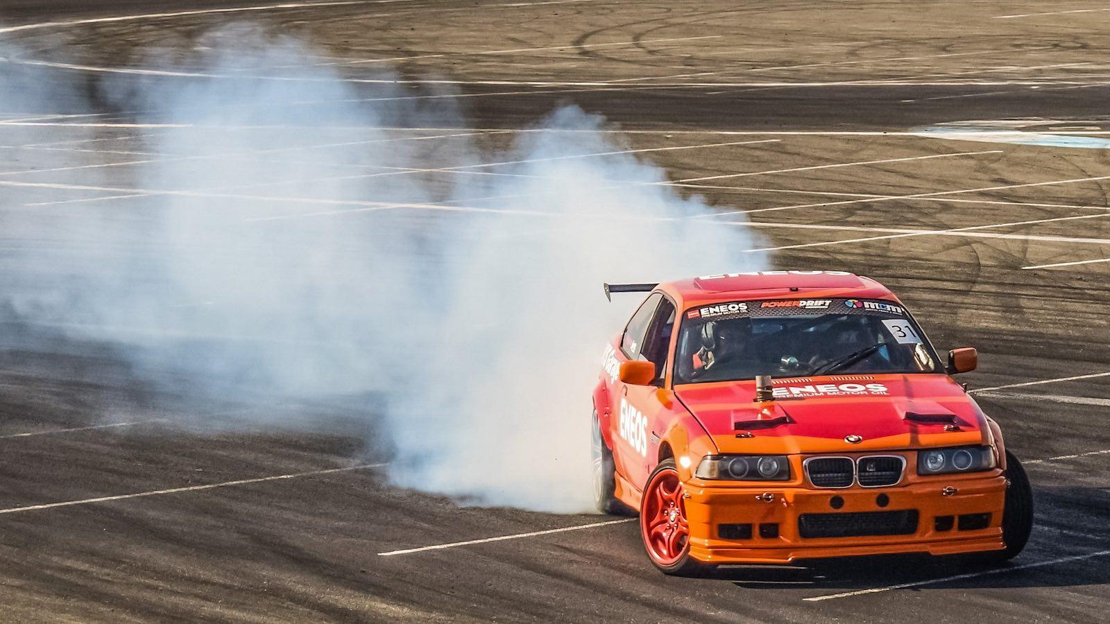 Drifting BMW M3