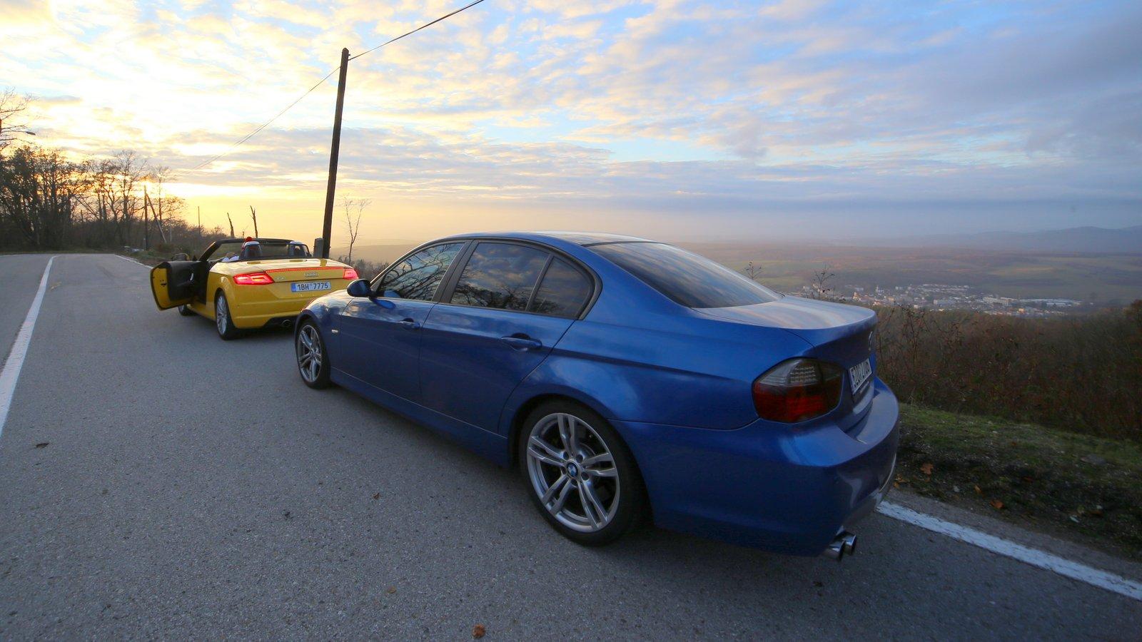 Audi TT&BMW 330I