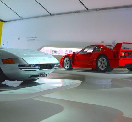 Ferrari Muzeum v Modeně