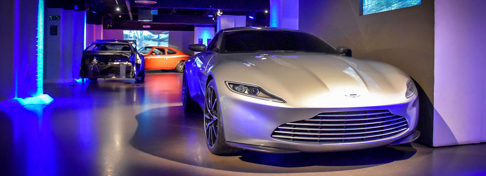 Aston Martin DB10 v muzeu