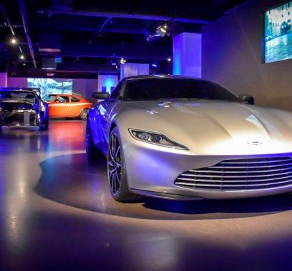 Londýnská výstava 'Bond in Motion'